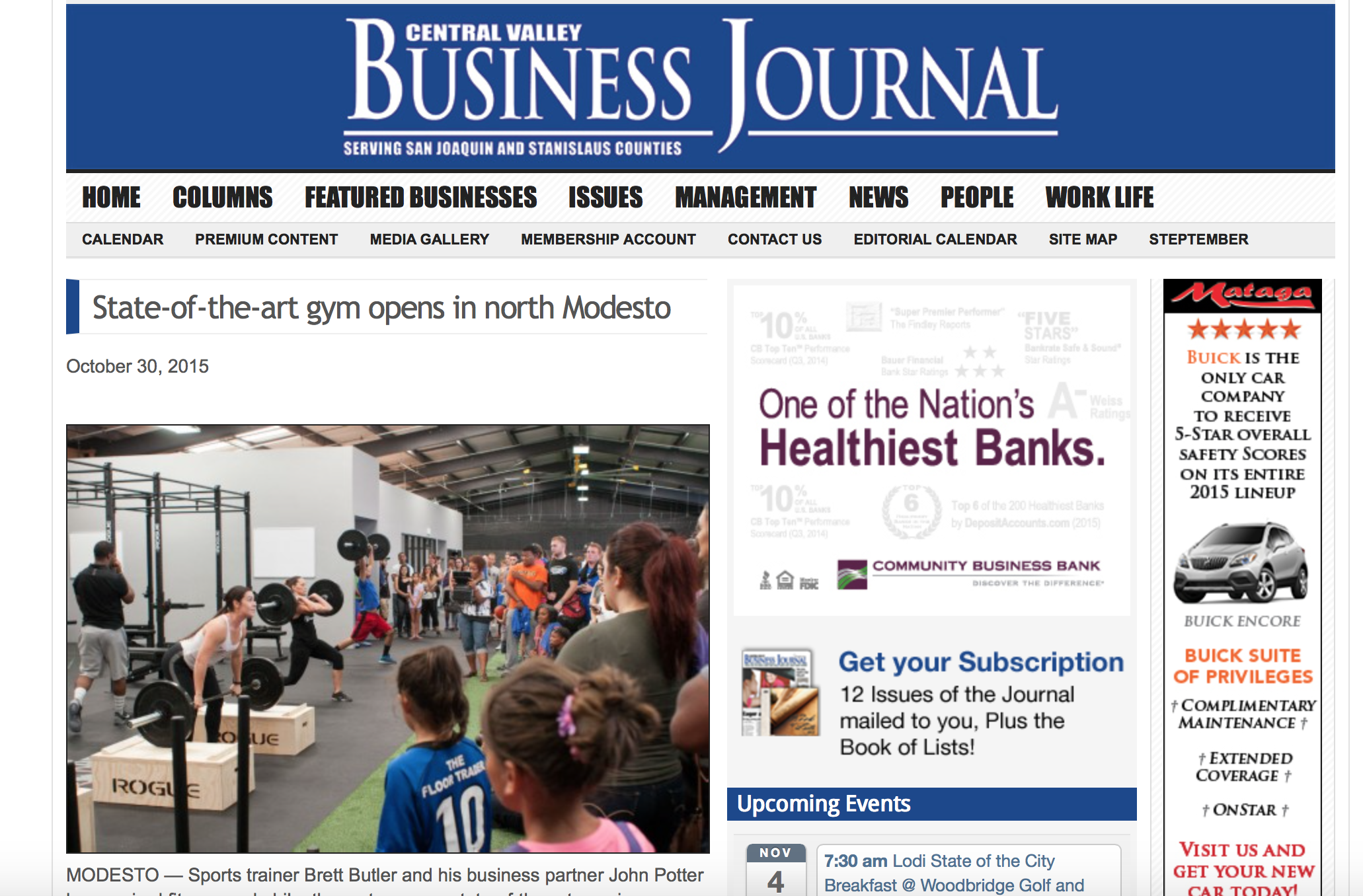 tpl featured in the central valley business journal